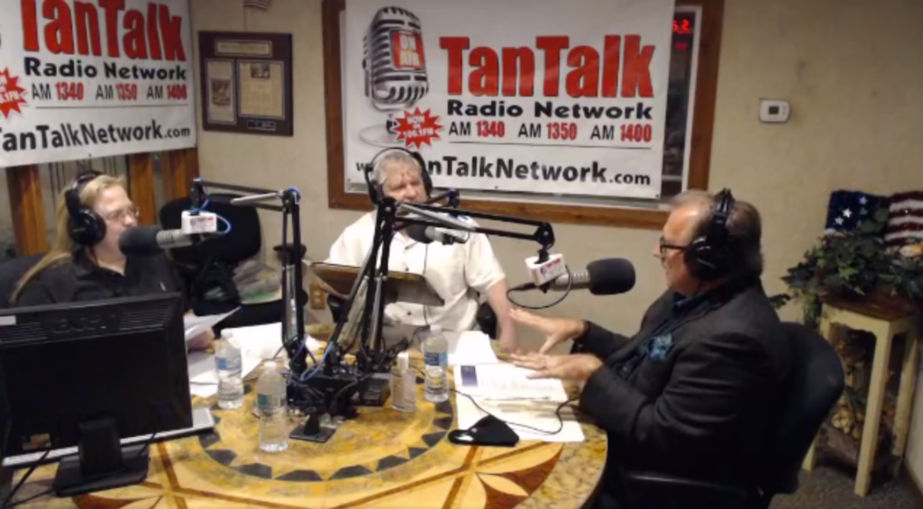 Maestro Stephen P Brown on WTAN TanTalk's Kelly Kelly Show
