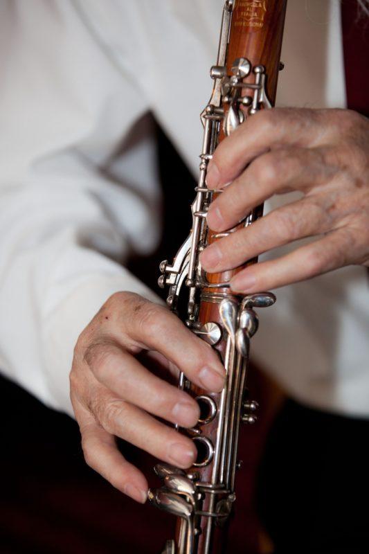 Flute oboe clarinet bassoon saxophone horn trumpet trombone tuba percussion